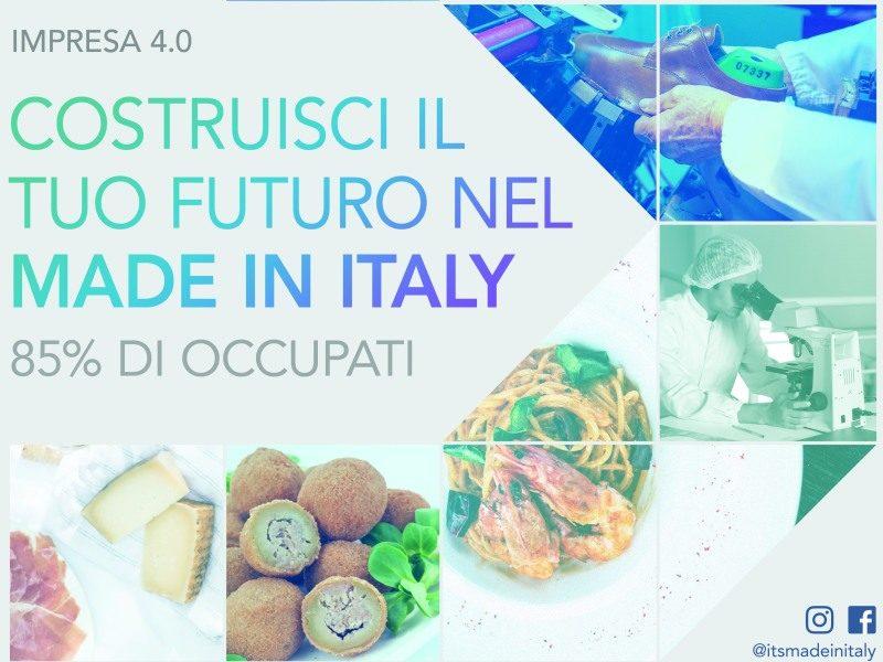 """Corso gratuito ITS """"Nuove Tecnolgoie per il Made in italy"""" settore Marketing – Moda,"""