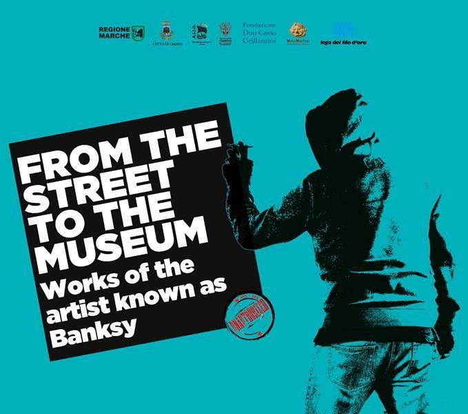 "Mostra ""Lo chiamano Banksy"" – Osimo dal 29 Marzo 2019"
