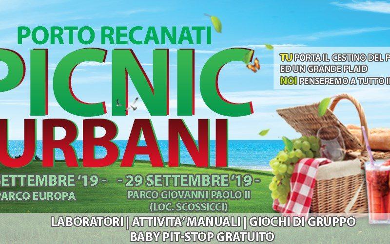 PICNIC URBANI a Porto Recanati- Domenica 15 Settembre