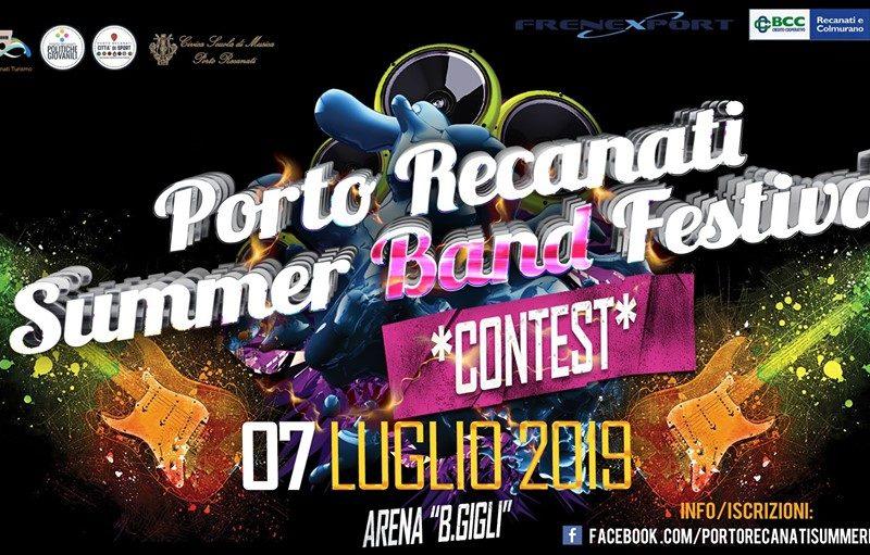 Porto Recanati Summer BAND Festival Contest [iscrizioni fino al 30 Giugno 2019]