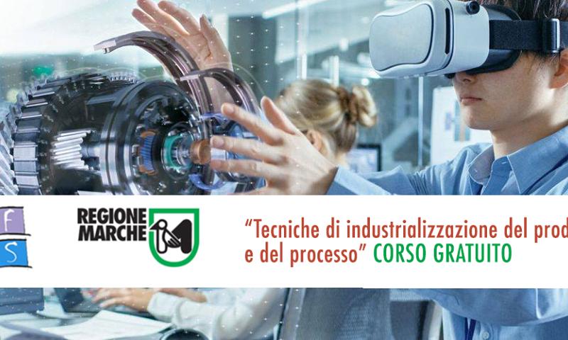 Corso IFTS Tecniche di industrializzazione del prodotto – Scadenza 31 Maggio 2019